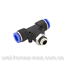 Фитинг соединитель пневматический М12*1,5*8