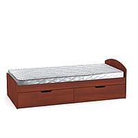 Кровать-90+2 односпальная детские и подростковые кровати с ящиками для белья 92х60х201 см Компанит