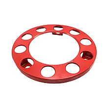 Ковпак металевий на колесо відкритий R 22,5 Червоний