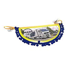 Вимпел декоративний півколо MAN Маленький Синій