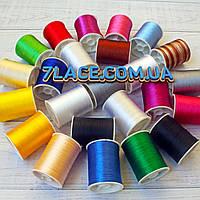 Набор ниток для ручной вышивки / микс цветов / намотка 100 ярдов / упаковка 24 бобины