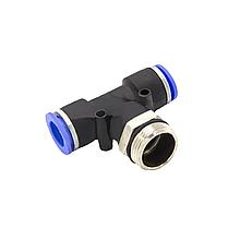 Фитинг соединитель пневматический М22*1,5*8