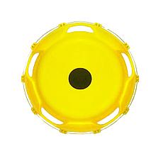 Ковпак пластиковий на заднє колесо 22,5 Жовтий