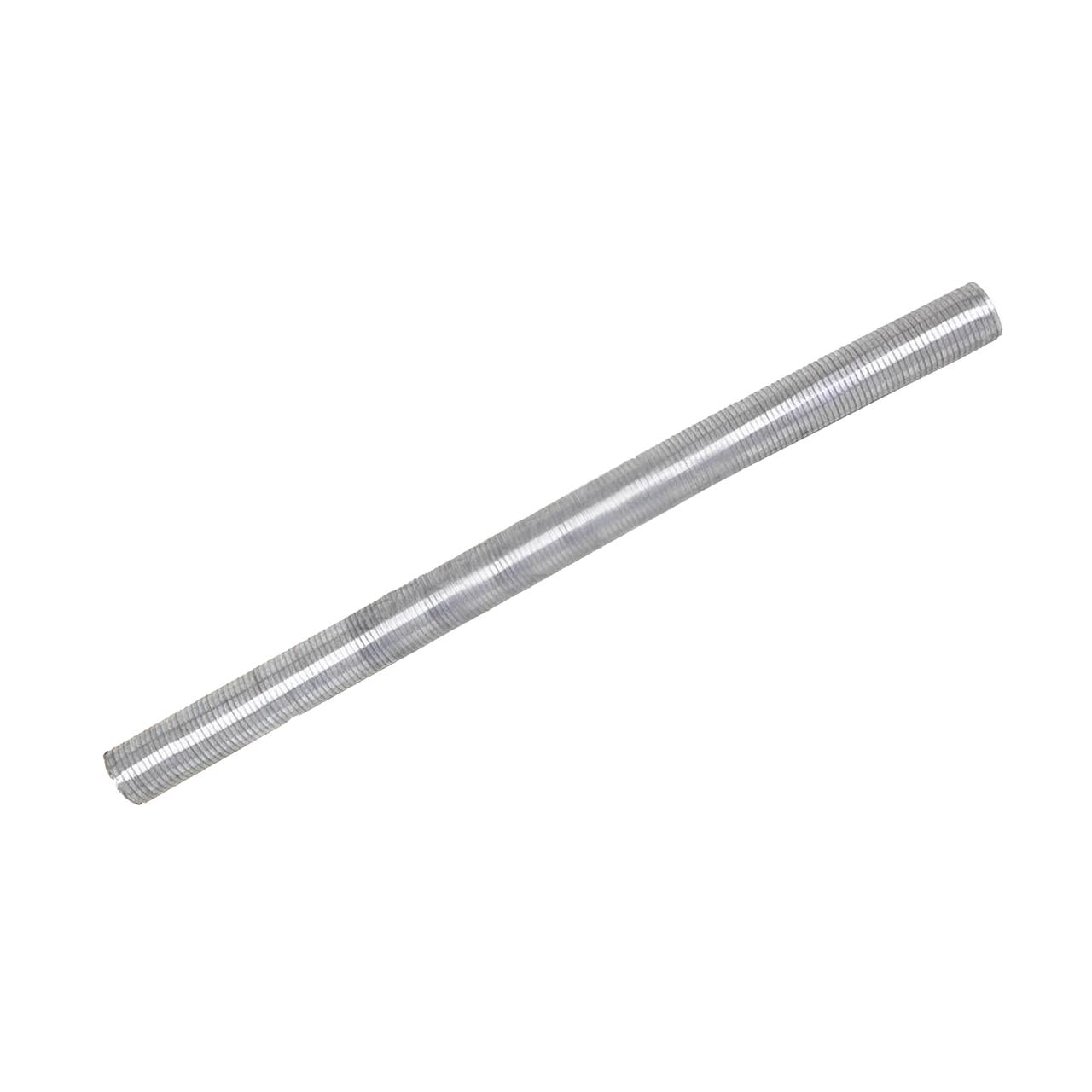 Гофрированная труба оцинкованная сталь 80 мм 0,5м без фланцев