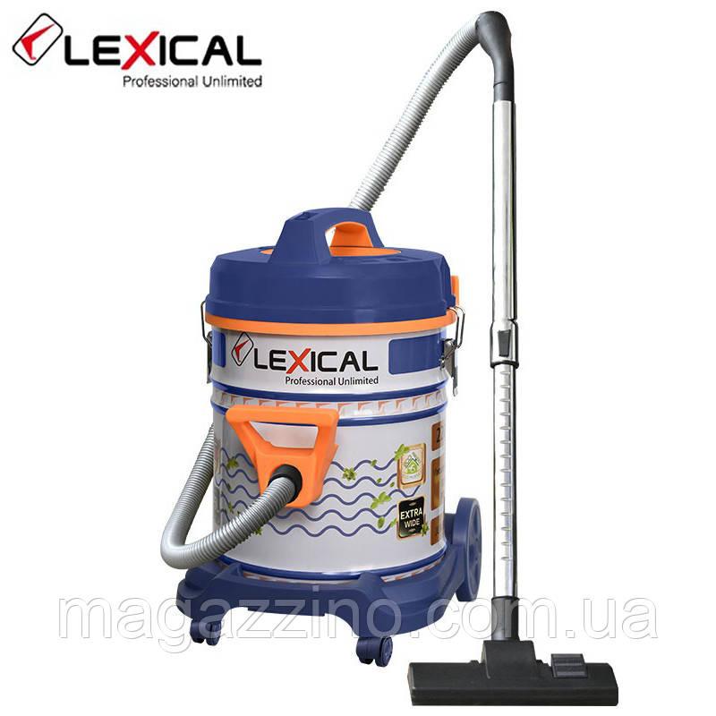 Профессиональный пылесос Lexical LVC-4002-8, 2200 Вт., 25л.