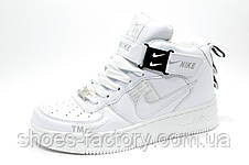 Белые Кроссовки унисекс Nike Air Force 1 '07 Lv8 Utility, фото 3
