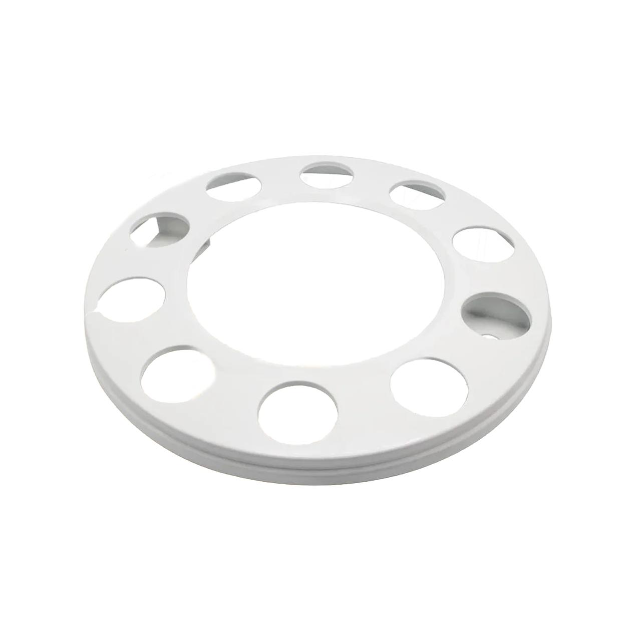 Колпак металлический на колесо открытый 22,5 Белый