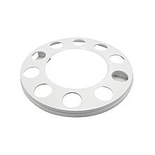 Ковпак металевий на колесо відкритий 22,5 Білий