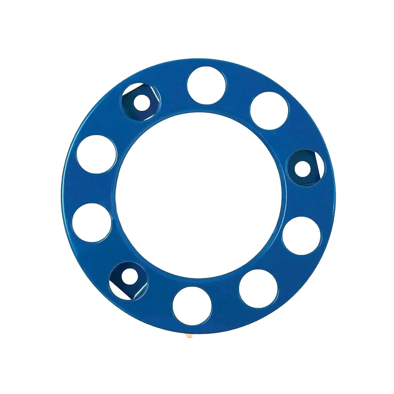 Колпак металлический на колесо открытый 22,5 Синий