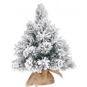 Искусственная сосна Black Box Trees Millington зеленая с эффектом снега, 0,45 м