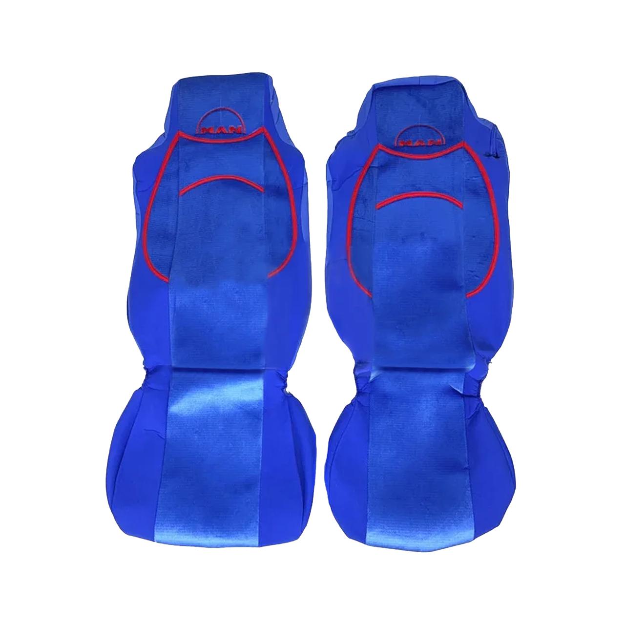 Чехлы на сиденья MAN TGA Синие