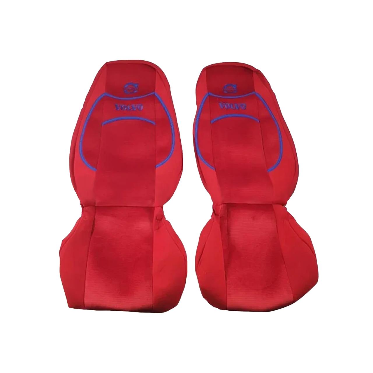 Чехлы на сиденья VOLVO FH 12-16 Красные