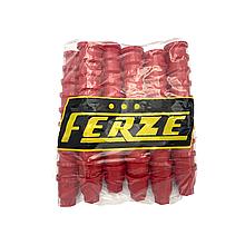 Пластикові ковпачки на гайку 32 Червоні 60шт