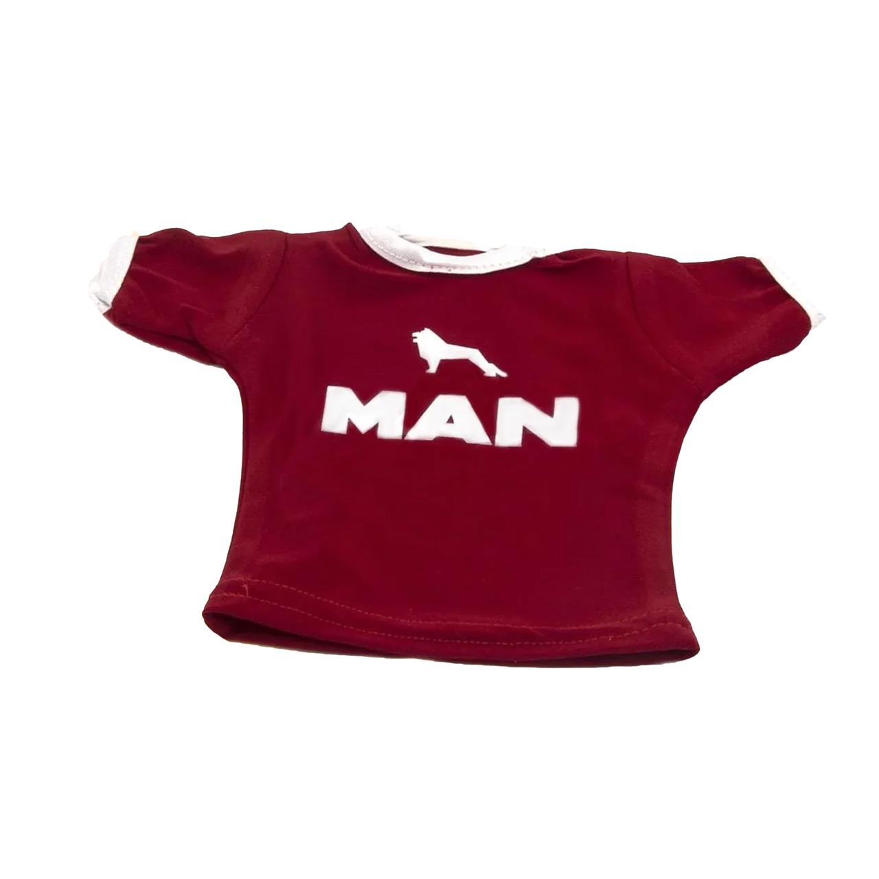 Вымпел-футболка, декоративный MAN Красный