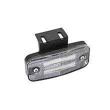 Габаритний ліхтар светодиодый (2 смуги) Білий 24v ISIKSAN