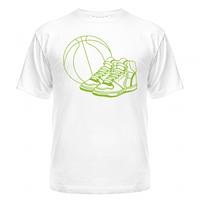 Футболка Баскетбол (мяч и кеды)