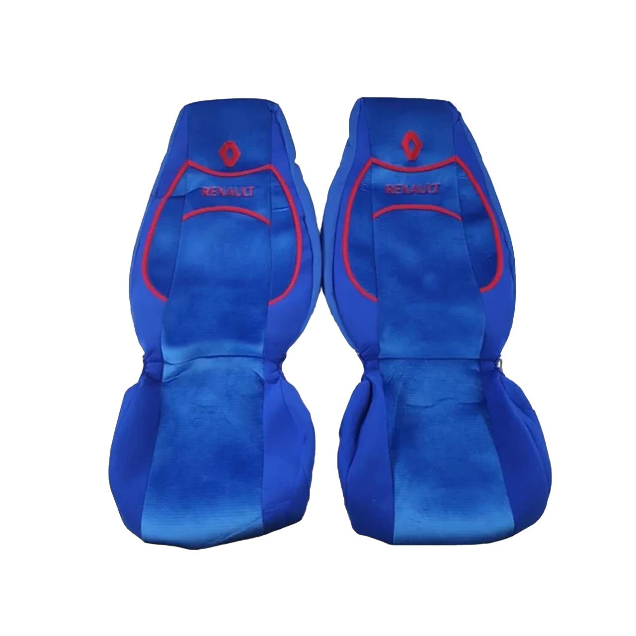 Чехлы на сиденья RENAULT PREMIUM Синие