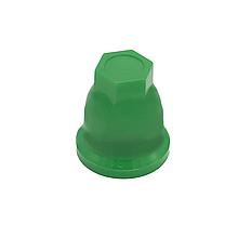 Пластиковий ковпачок на гайку 32 Зелений