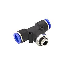 Фитинг соединитель пневматический М12*1,5*6
