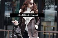 Женское стильное замшевое зимнее , модель 0341, фото 6