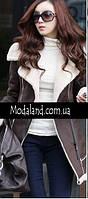 Женское стильное замшевое зимнее , модель 0341, фото 7