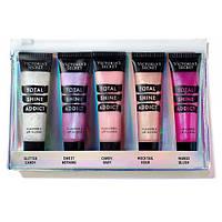 Набор блесков для губ Victoria`s Secret Total Shine Addict Flavored Lip Gloss Assorted