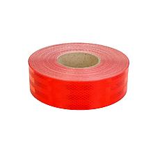 Світловідбиваюча стрічка для маркування кузова Червона 50м Е13
