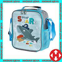"""Распродажа! Сумка-холодильник для еды """"Акула"""" детская термо-рюкзак для детей в школу, термосумка для обедов, фото 1"""