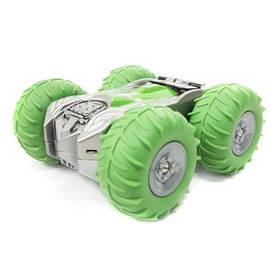 Радиоуправляемая игрушка MEKBAO перевертыш Большие колеса Салатовый (5588-711-1)