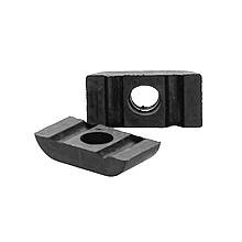 Скоба топливных трубок (двойная) резиновая / кляймер