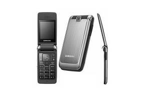 Мобильный телефон Samsung  s3600 Silver раскладушка 880 мАч
