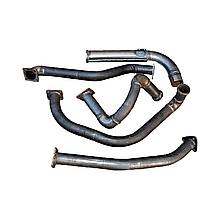 4320Я-1203006/08/10/11 Комплект вихлопних труб ДВС ЯМЗ