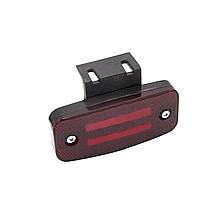 Габаритний ліхтар светодиодый (2 смуги) Червоний 24v ISIKSAN