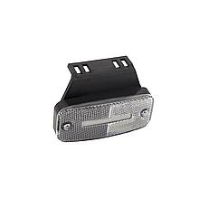 Габаритний ліхтар светодиодый (1 шпальта) Білий 24v NOKTA