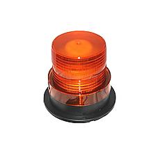 Проблисковий маячок, помаранчевий (LED, магнітне кріплення)