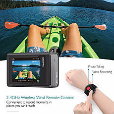 Экшн-камера AKASO Brave 6 WiFi 4K 20MP, фото 2