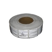 Світловідбиваюча стрічка для маркування кузова Квадратами Біла 50м Е31