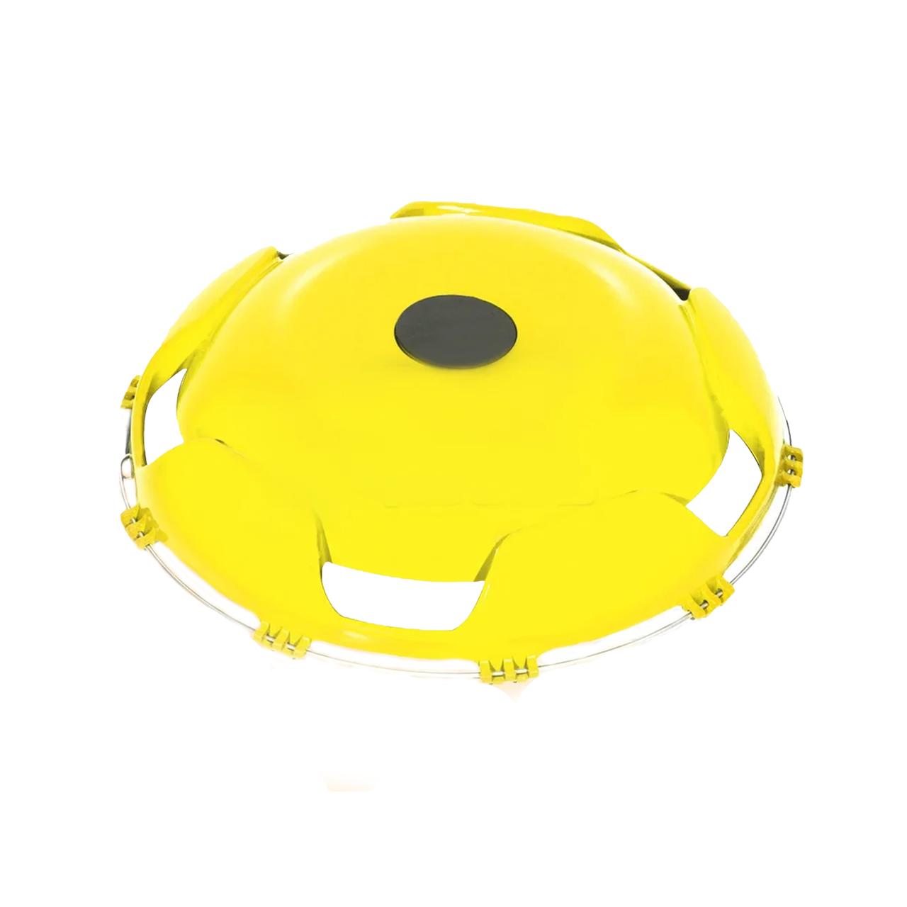 Колпак пластиковый на переднее колесо 22,5 Желтый