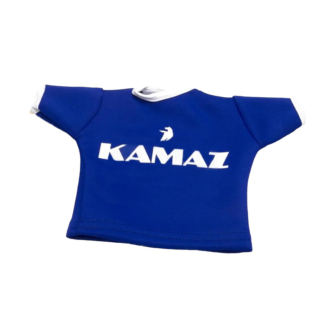 Вымпел-футболка, декоративный KAMAZ Синий