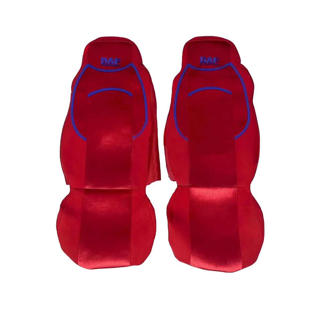 Чехлы на сиденья DAF XF95 Красные