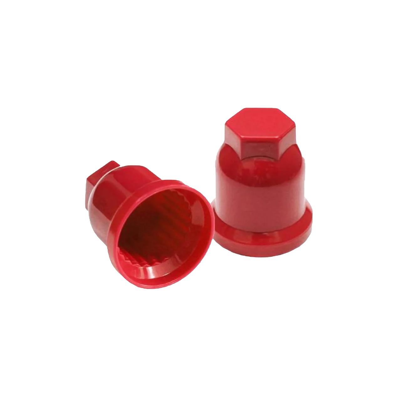 Колпачок пластиковый на гайку 32 Красный