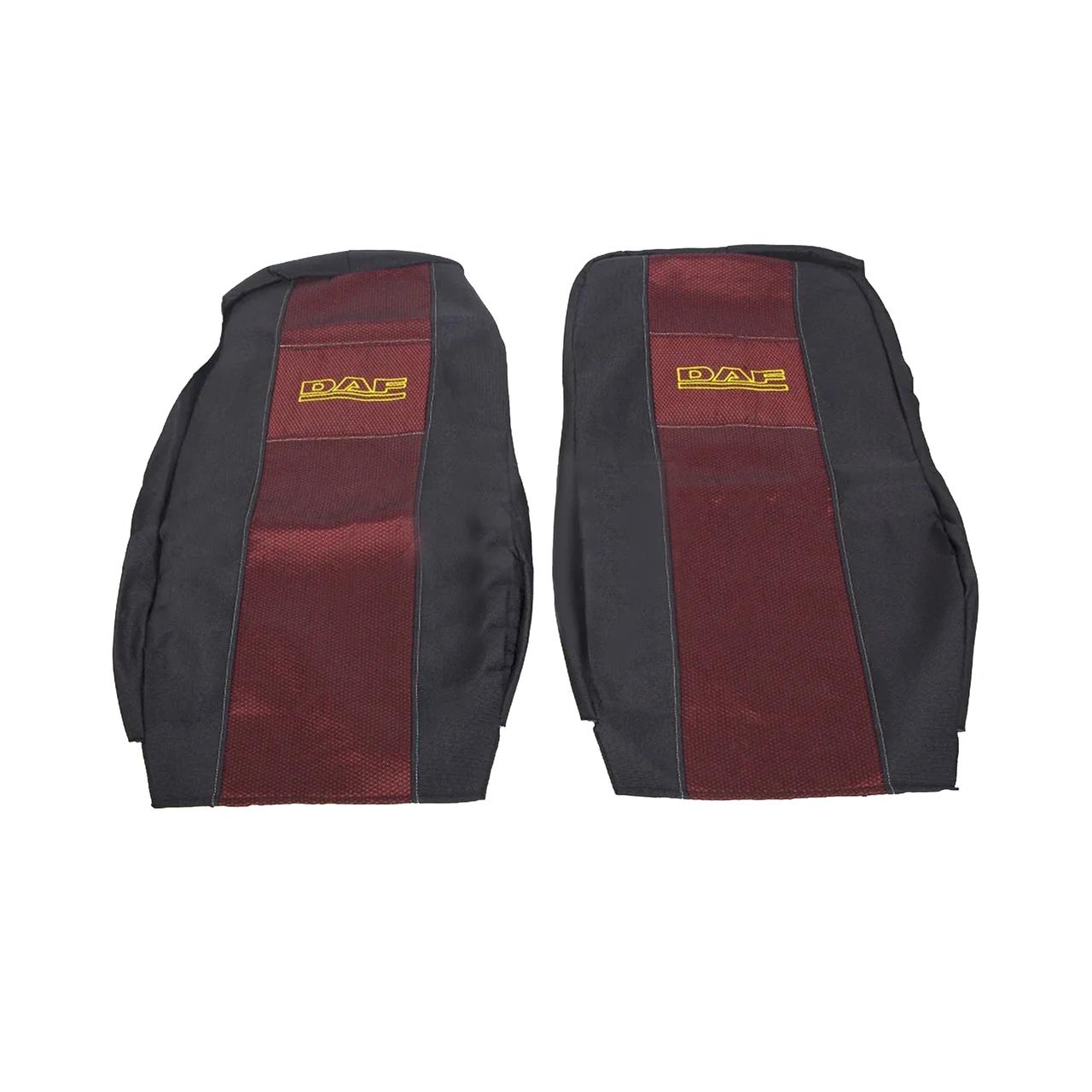 Чехлы на сиденья DAF XF.105.460 (EVRO5) Красного цвета