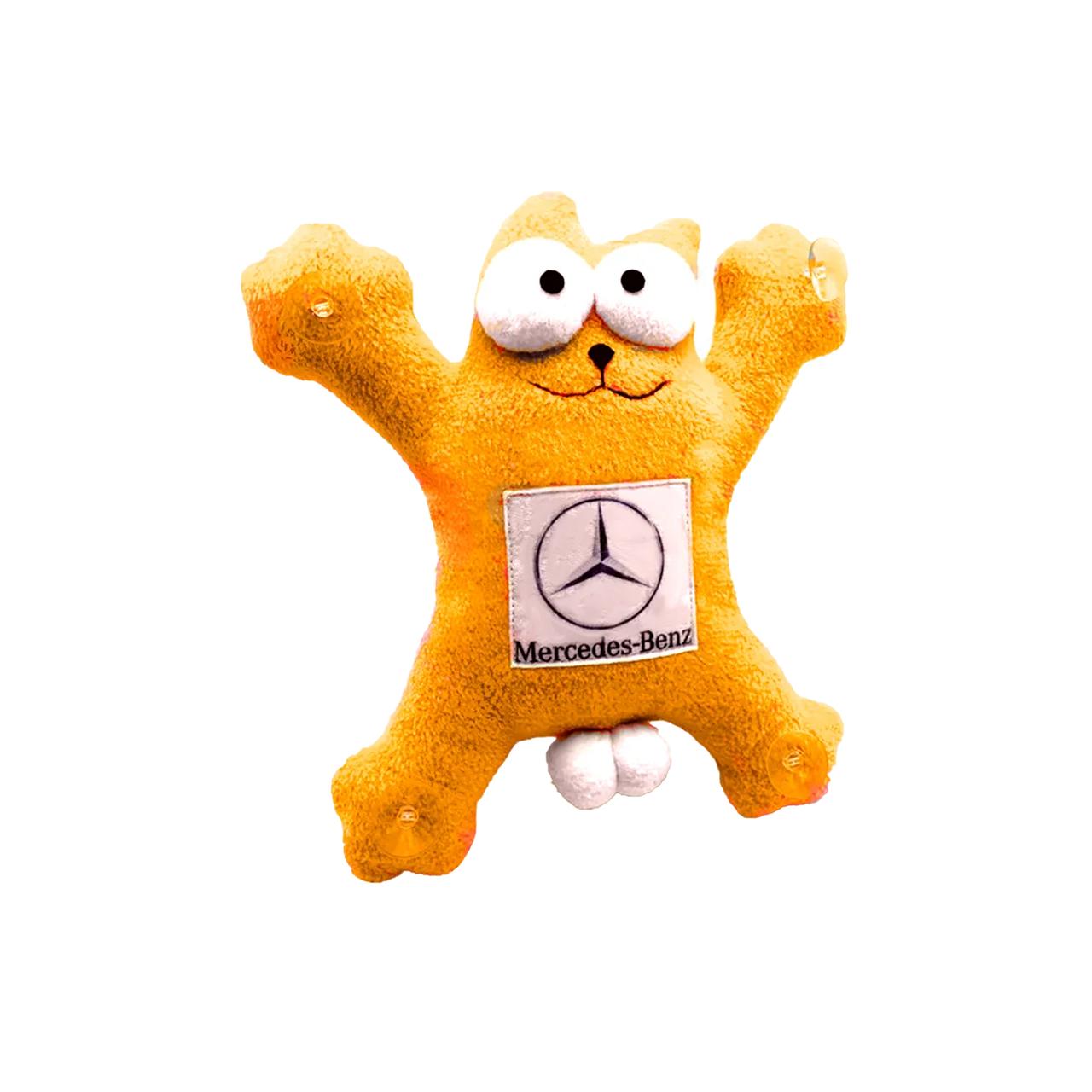 Кот Саймон MERCEDES Оранжевый 26см
