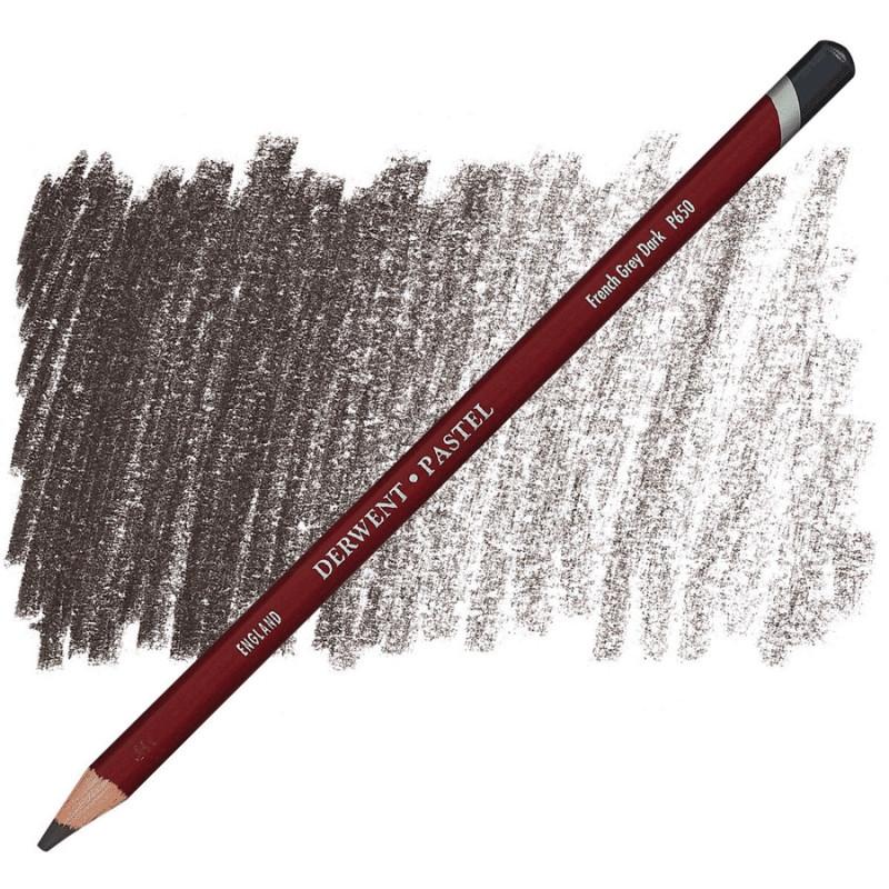 Карандаш пастельный Derwent Pastel французский серый темный P650 (5028252147750)