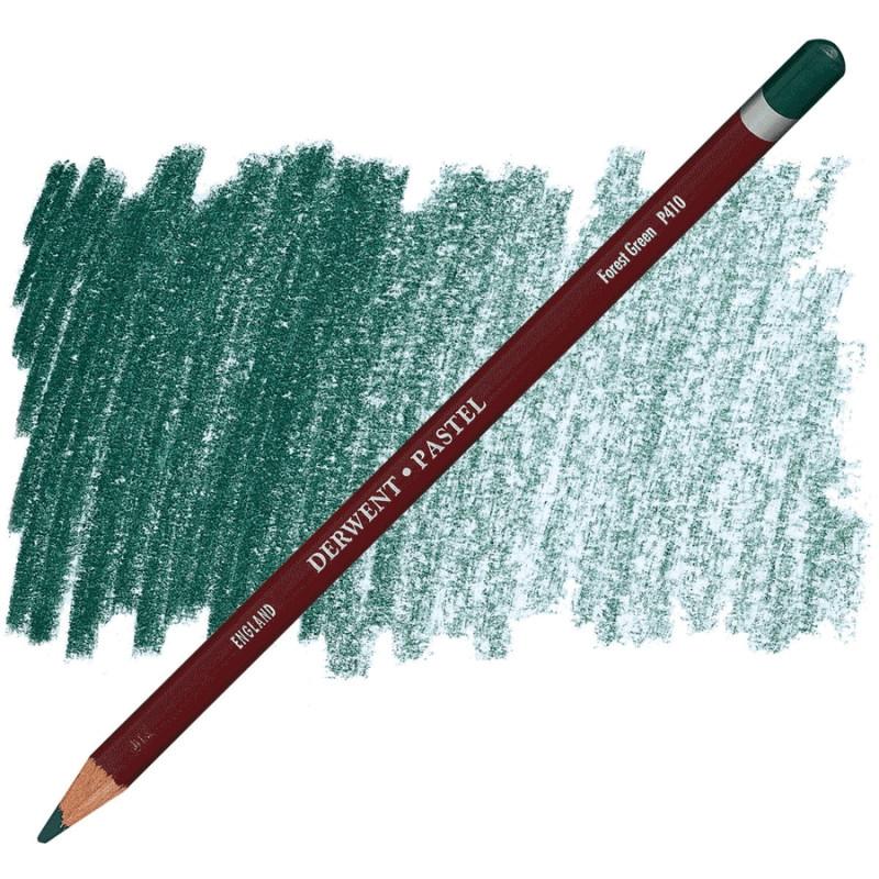 Пастельний олівець Pastel P410 Зелений ліс Derwent