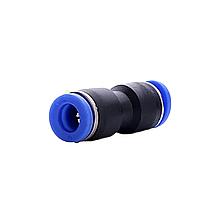 Аварійний з'єднувач пневматичний прямий Ø 7 мм