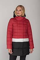 Демисезонная женская куртка-пальто Томи 42-52 размеров, трехцветное в асорт, TM MioRichi, 46 р.