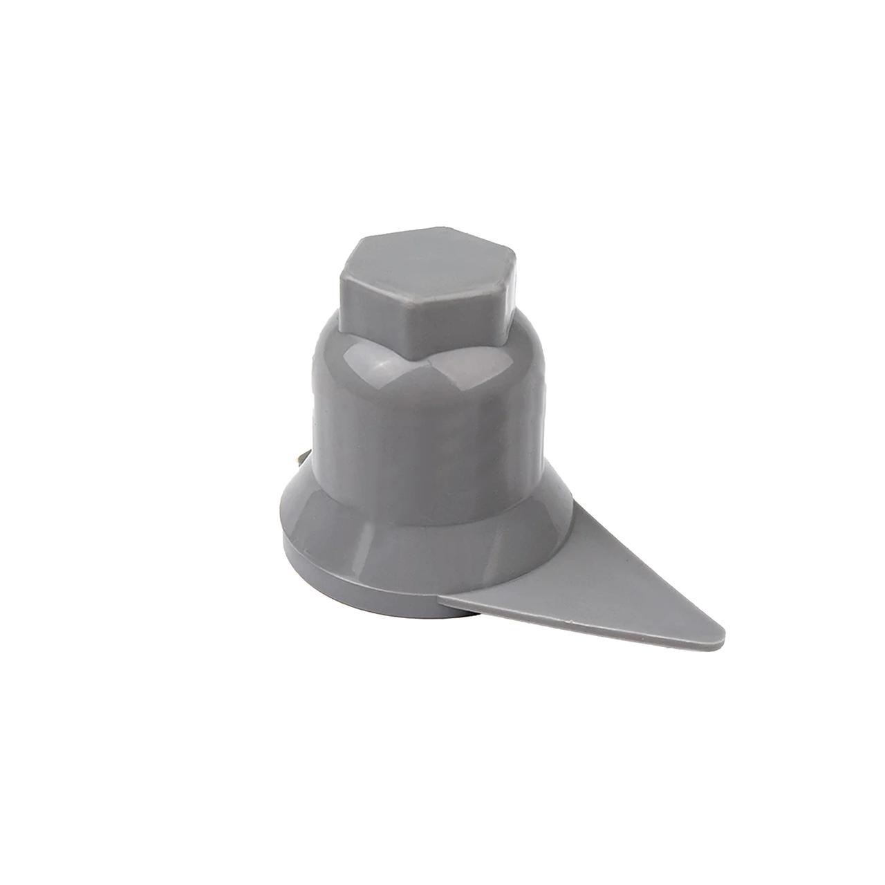 Колпачок пластиковый на гайку 32 Серый Стрелка