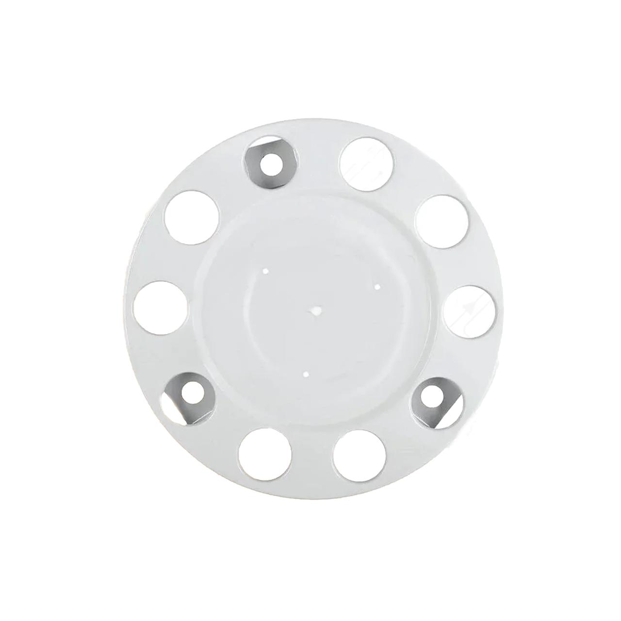 Колпак металлический на колесо закрытый 22,5 Белый