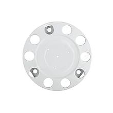 Ковпак металевий на колесо закритий 22,5 Білий
